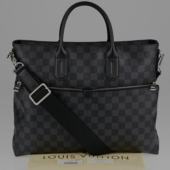 Louis Vuitton Graphite 7days a Week Business Bag